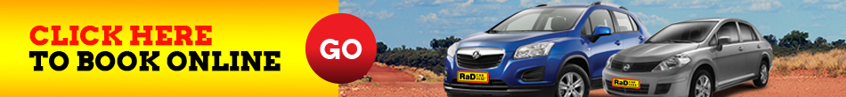 RaD Car Hire Book Online Banner