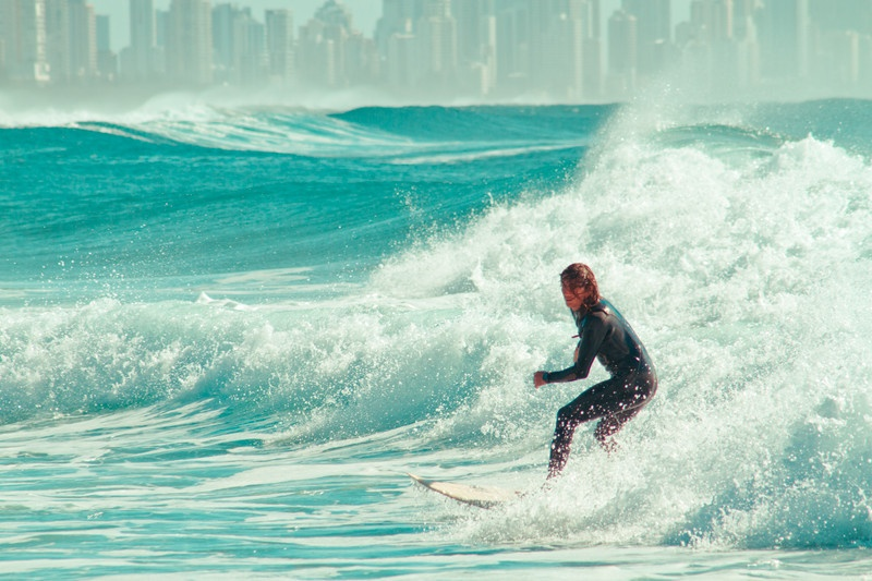 Surfing Gold Coast