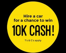 $10K cash giveaway small tile