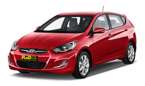 Compact - Automatic 4 Door Hyundai Accent Hatch or Similar