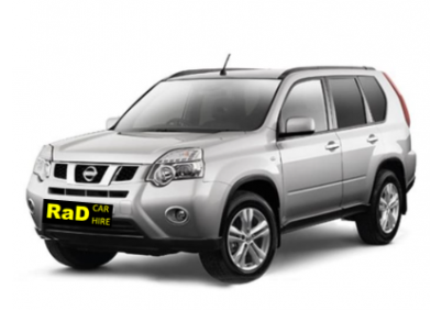 Budget Family SUV - Automatic 4 Door Nissan XTrail or similar