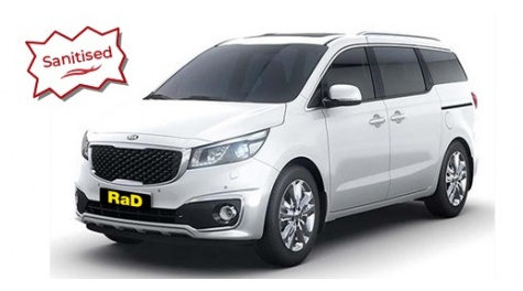 Kia Carnival Luxury 8 Seater - Automatic