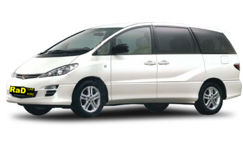 Budget People Mover - Automatic 8 Seater Toyota Estima or similar